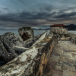 Breakwater Castro Urdiales — Stock Photo #41671539