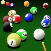 Biljardspel — Stockfoto