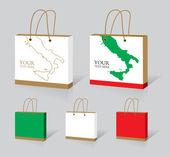 Italian bag — Stock Vector