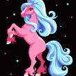 Pink horse — Stock Vector #34531765