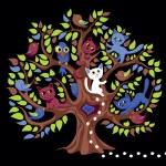 Funny tree — Stock Vector
