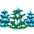 Fir-tree — Image vectorielle
