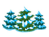 Fir-tree — Vector de stock