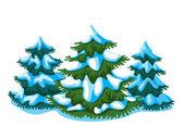 Fir-tree — Vettoriale Stock