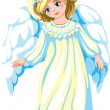 Kind angel — Stock Vector #37485649