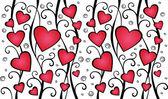 Patrones de amor — Vector de stock