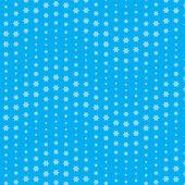 Snowflake seamless pattern — Stock Vector