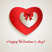 Happy Valentine's day. — Vector de stock