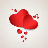 Valentine's day or Wedding. Vector background — Stockvektor
