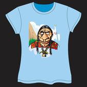Indian VectorT-shirt — Stock Vector