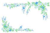 Ornament roślinny — Wektor stockowy