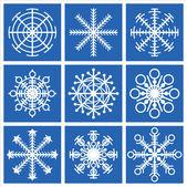 снежинки — Cтоковый вектор