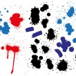 Stock Vector: Blots