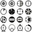 Clock — Stock Vector #40621317