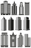 High-rise buildings — Stock Vector