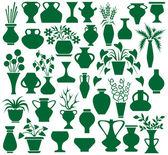 Vase — Stok Vektör