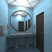 Interno del wc — Foto Stock