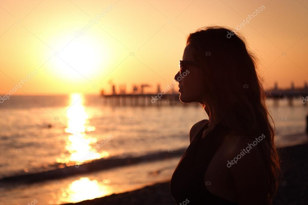 Красивых девушки на море