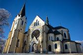 Kościół w Lewoczy — Zdjęcie stockowe