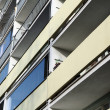 Old communist tower block in Prague, Czech republic — Stock Photo #34684597