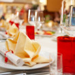 Served for banquet table — Stock Photo #34514471