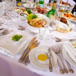 Served for banquet table — Stock Photo #34514473