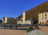 Winter Olympic Games 2014, Sochi 2014, Rosa Khutor, Krasnaya Polyana, town hall — Stockfoto