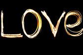 Love fire illustration — Stock Photo