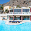 Swimming pool by a luxury hotel, Crete, Greece — Stock Photo #34654339
