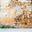 Stock Photo: Old aincient stone wall interior