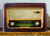Staré vintage rádio - skladem obrázek — Stock fotografie