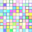 Multi-color squares mosaic background — Stock Vector #35526559