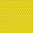 Honeycomb background vector illustration — Stockvektor