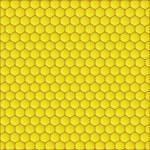Honeycomb background vector illustration — Stock Vector