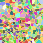 Colorful mosaic background - Vector Illustartion — Stock Vector
