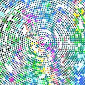 Geometrische gekleurde achtergrond — Stockvector