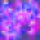 Blue and violet background with squares — Stock Vector