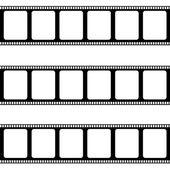 Blank negative film — Stock Vector