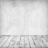 Empty white interior of vintage room. — Foto Stock