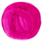 Abstract watercolor circle painted background — Stock Photo