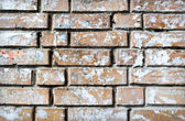 Grunge textured background of brick wall — Stockfoto