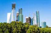 Edifícios da cidade de moscou — Foto Stock