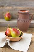 Fresh and tasty pears — Stock Photo