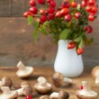 Fresh mushrooms — Stock Photo