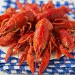 Stock Photo: Boiled crayfish