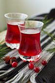 Cranberry fruit drink — Stock Photo