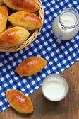 Baked pasties — Stock Photo
