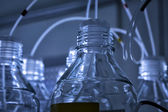Chemical laboratory background — Stockfoto