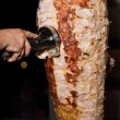 Turkish chicken doner kebab — Stock Photo