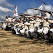 Representation of the Battle of Bailen — Stock Photo